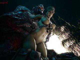Caira Diaz X Goliath (beastlyjoe)[monster] (gfycat.com)