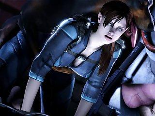 Jill Valentine Resident Evil Revelations Source Filmmaker Ozzysfm