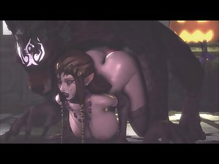 Zelda Getting Fucked From Behind By Wolf Link (jujala)[dog Wolf] (gfycat.com)