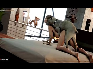 Lara Croft And Her Doggy Naughty Machinima 1