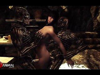 Inappropriate Skyrim Shenanigans 4 Naughty Machinima 1