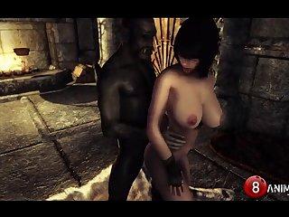 Inappropriate Skyrim Shenanigans 6 Naughty Machinima 1